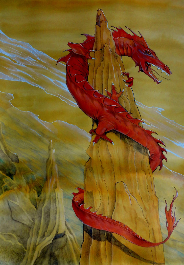 Dragon by JettieHier