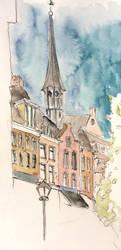 City centre of Utrecht by JettieHier