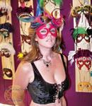 Tia Behind Her Mask