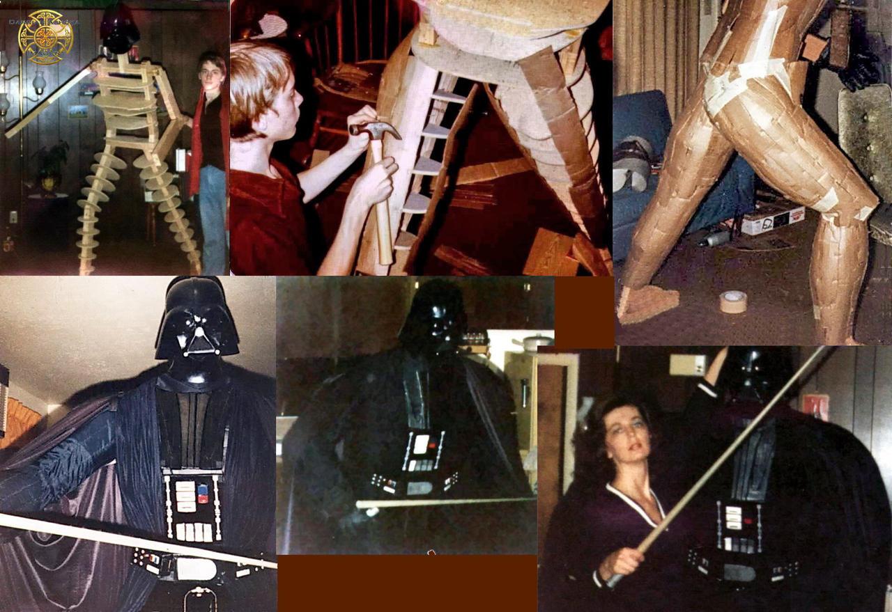 Life Size Darth Vader by DarrianAshoka