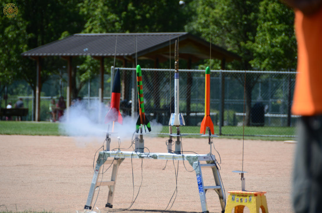 Model Rocket Launch 1 by DarrianAshoka