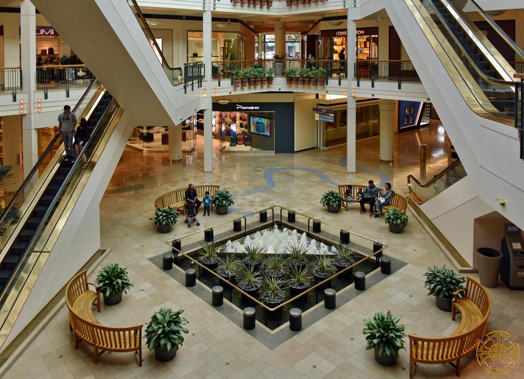 Indoor Mall Under Natural Light By Darrian Ashoka On