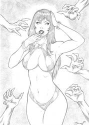 Vampirella by Beuwullf