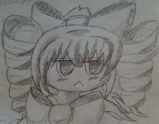 Chibi Gochiruzeru Gijinka Sketch by Laetabundus