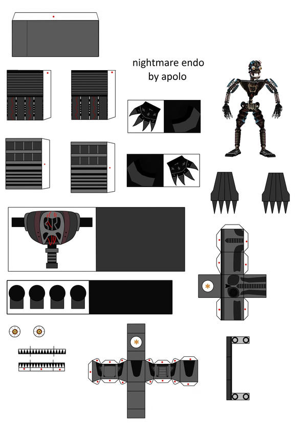 terminator endoskeleton paper craft Papermau terminator t endoskeleton hand paper model in more screen  accurate i ll have to guess at those measurements here are a couple pictures of.
