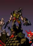 Quake Ranger: Battling the Unspeakable (color)