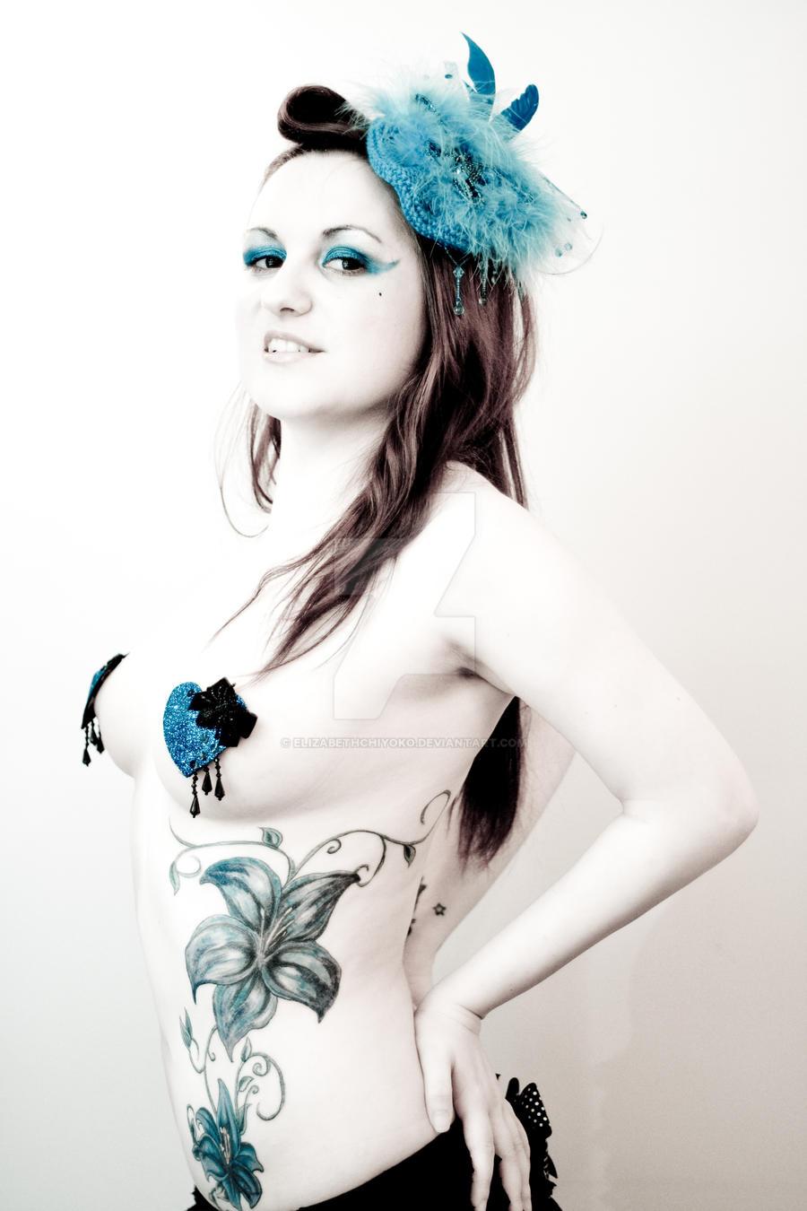 Miss Lily Stark Show Girl 6 by ElizabethChiyoko