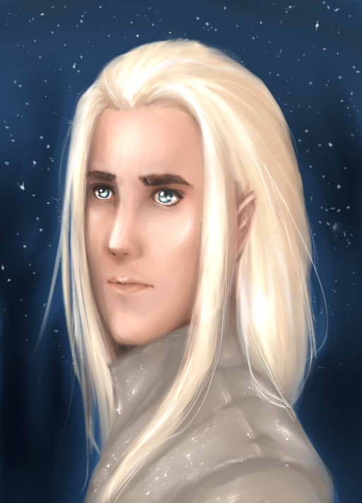 Thranduil by elf-artist87