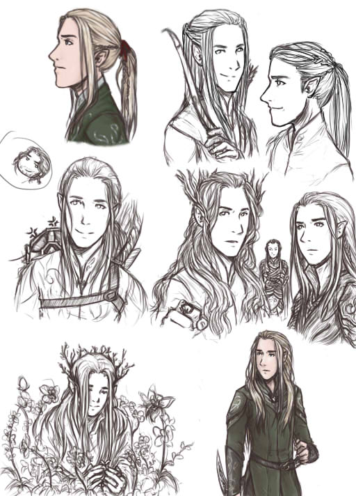 Elves of Mirkwood by elf-artist87