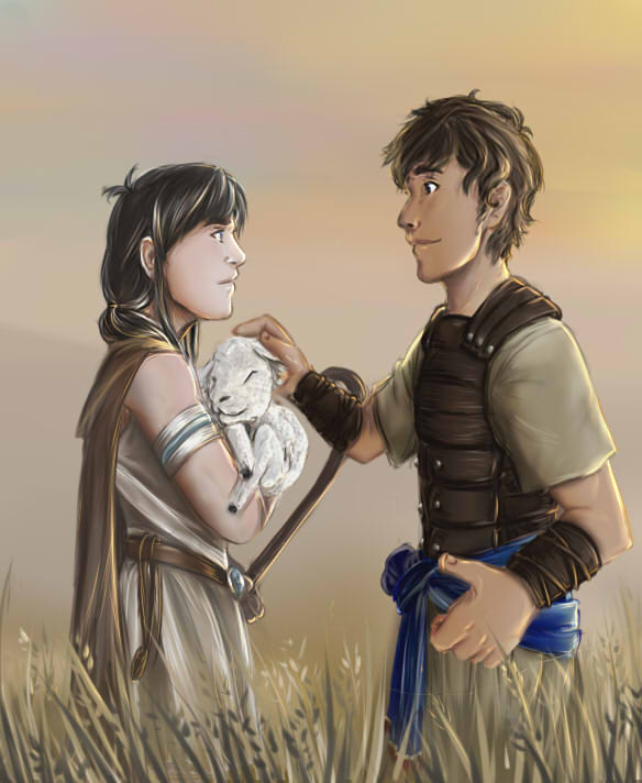 Contest Entry: Israel and Judea by elf-artist87