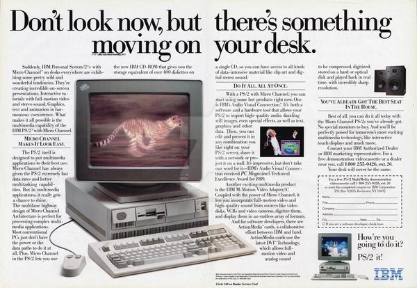 IBM PS/2 Advert (1990 Computing Commercials)