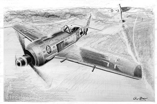 Focke-Wulf Fw 190 by gregbajor