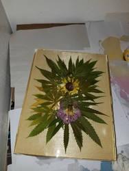 WIP 2021 Botanical Mandala Art Series