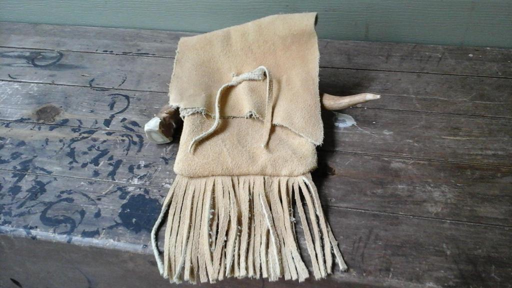 Buffalo Suede Fringe Bag by Troll-Blood