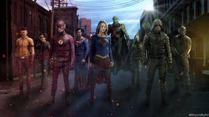 The CW heroes