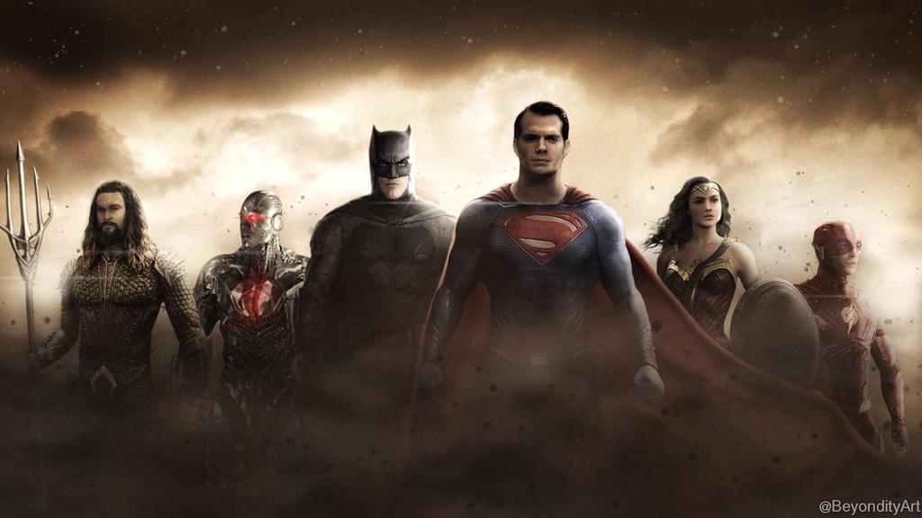 Justice League Wallpaper by BeyondityArt ...