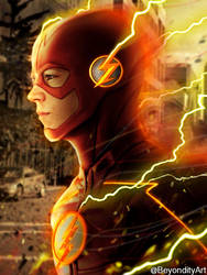 The Flash - This house is bitchin' by BeyondityArt