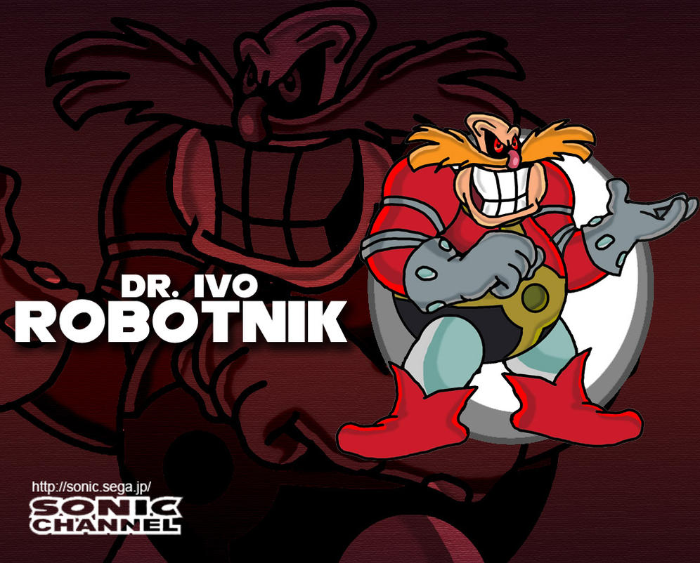 Sonic Channel: Dr. Ivo Robotnik by tornadothevulture22