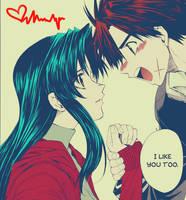 SouxKan - I Like You Too. by unagihime