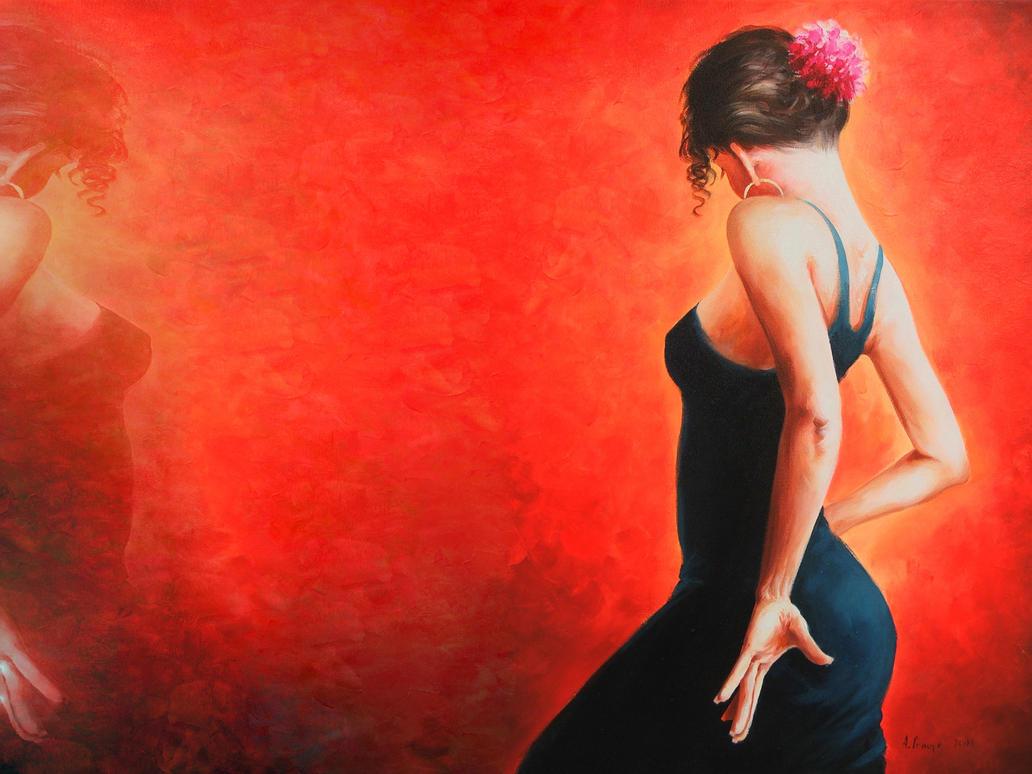 Flamenco - Spain Dancer woman by Lord-Iluvatar