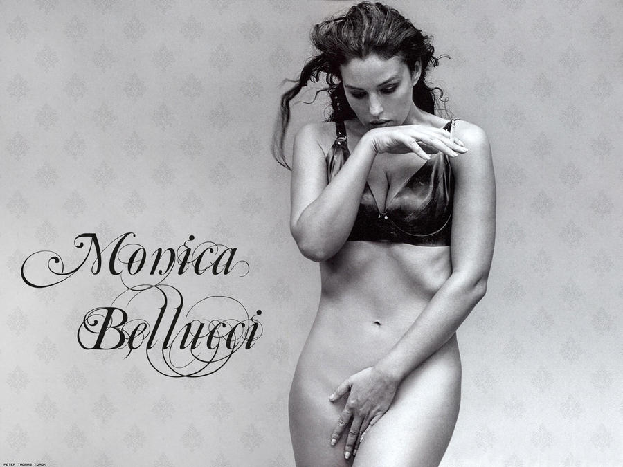 Monica Bellucci - Modell1 by Lord-Iluvatar