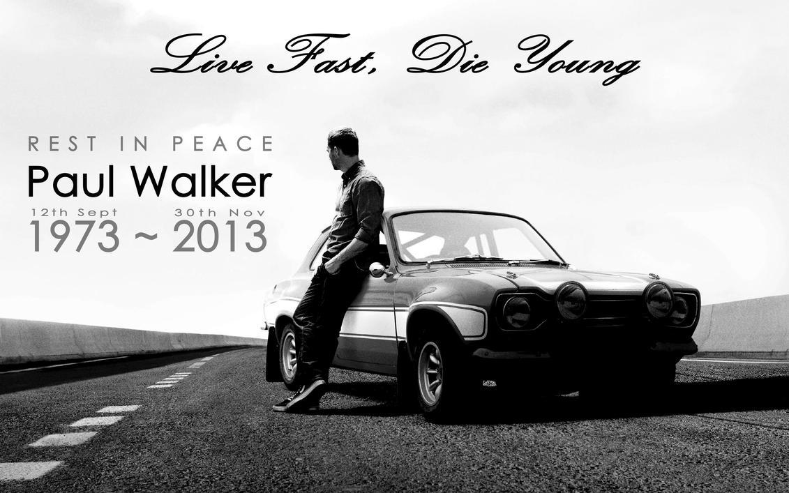 R.I.P. Paul Walker by Lord-Iluvatar