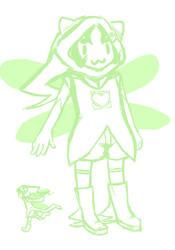 Nepeta God Tier Concept by Shikana