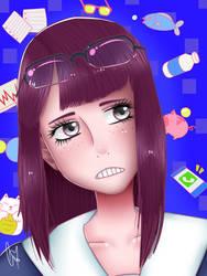 Keep Your Hands Off Eizouken! - Kanamori FanArt by CristalHeartLove