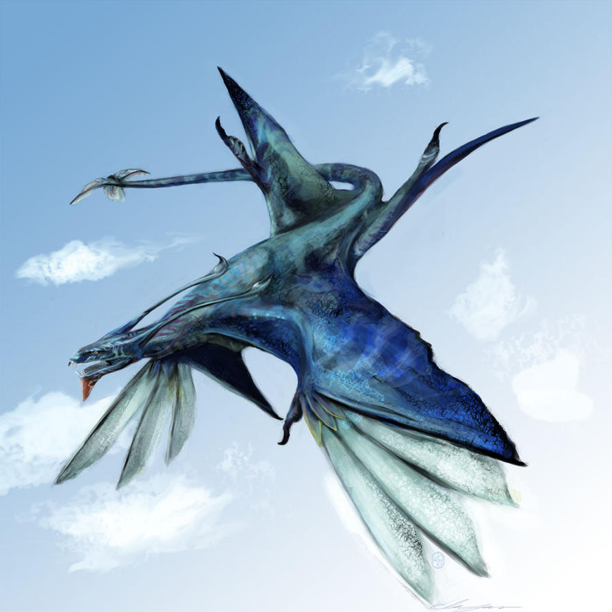 Avatar Art: Avatar: Ikran-Banshee By CircuitDruid On DeviantArt