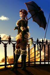 Steampunk pirate by CircuitDruid