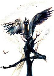 king of birds by CircuitDruid