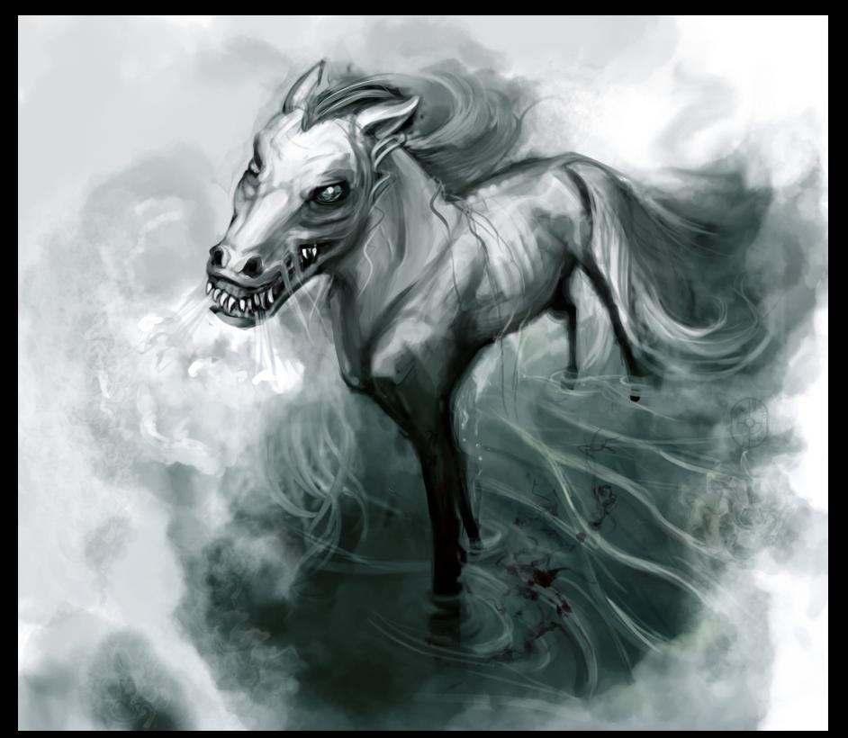 Mythical water horses - photo#20
