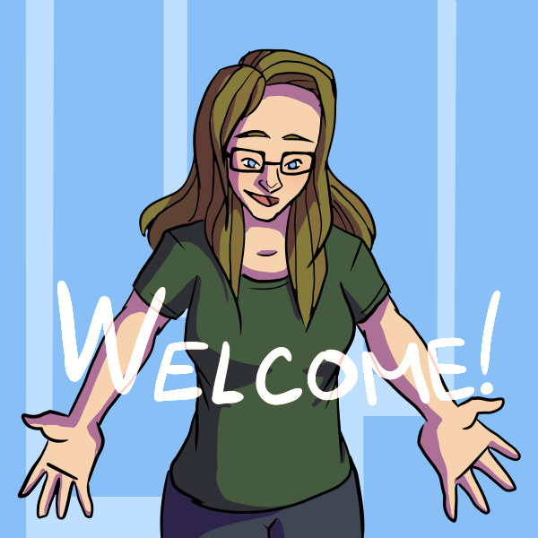 Welcome! by curiousdoodler