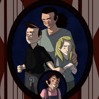 Disfuctional Family by curiousdoodler