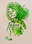 Mia in Green