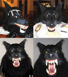 Werewolf mask WIP part 9 (finished)
