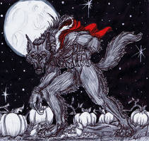 The Wolf in Red Clothing by Farumir