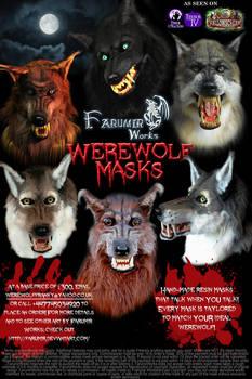 FarumirWorks' Werewolf Masks!