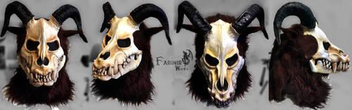 Ram Wendigo mask commission