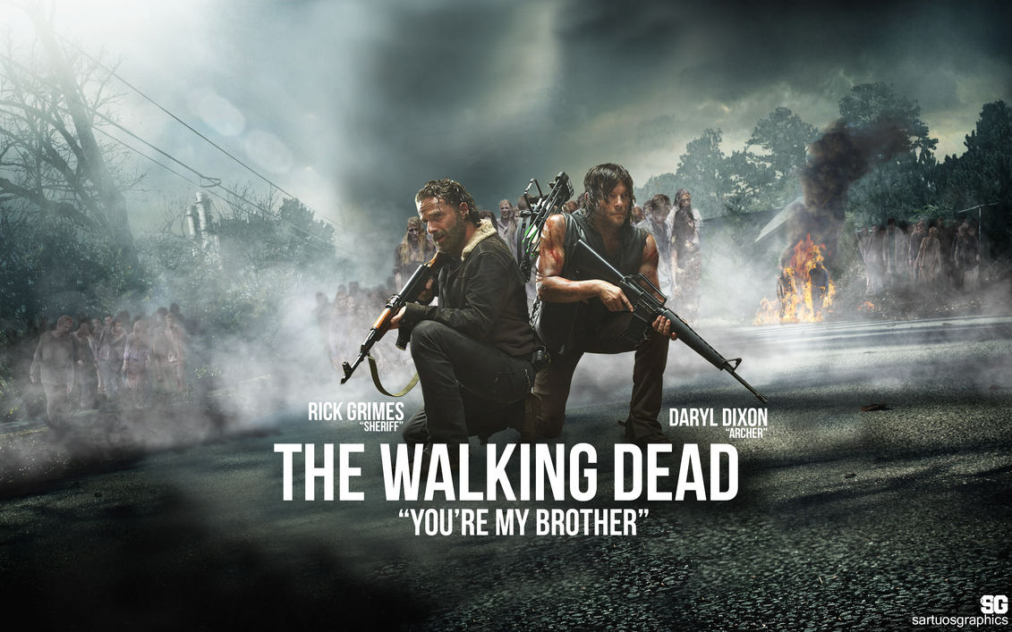 The Walking Dead (You're My Brother) WALLPAPER by ...