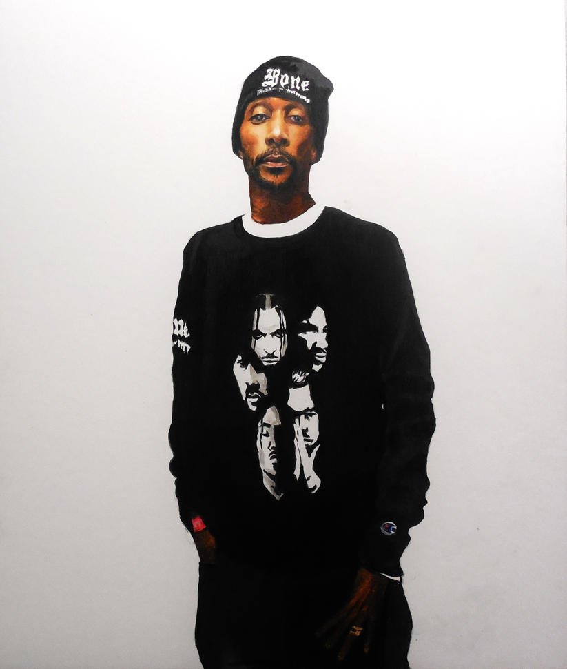 Krayzie Bone Drawing by SleepwalkinE