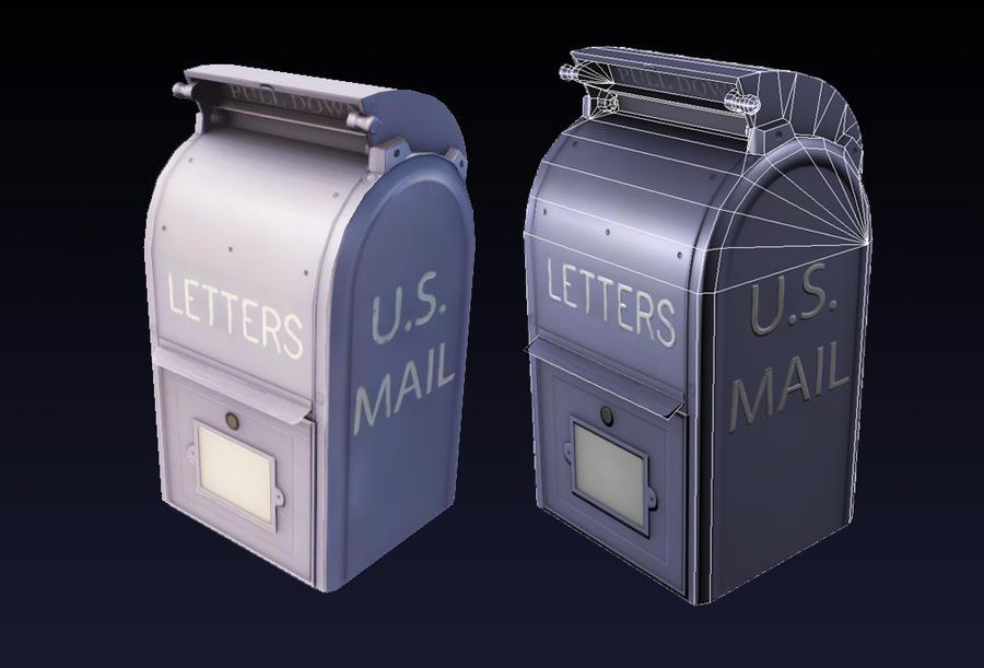 Mailbox prop by Magmabolt