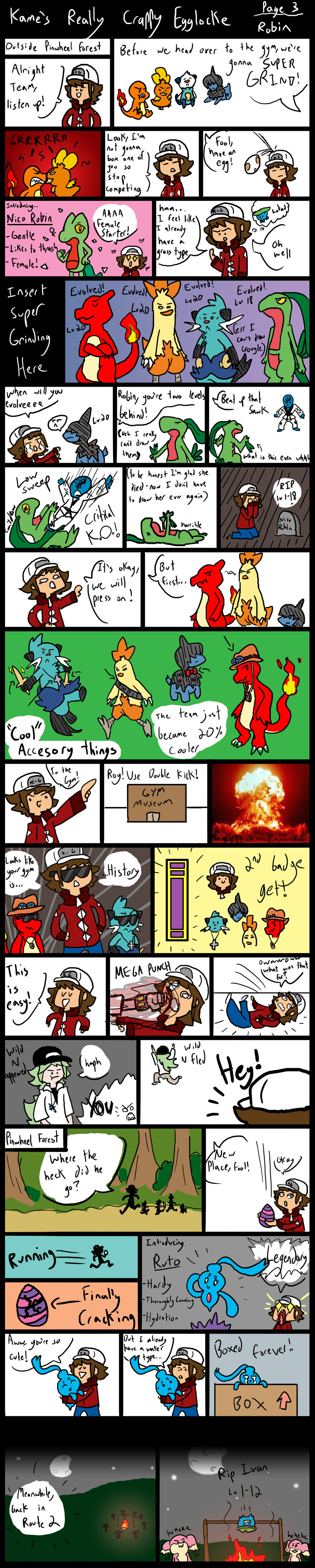 Kames Super Crappy Egglocke 3 by Kame-Ghost