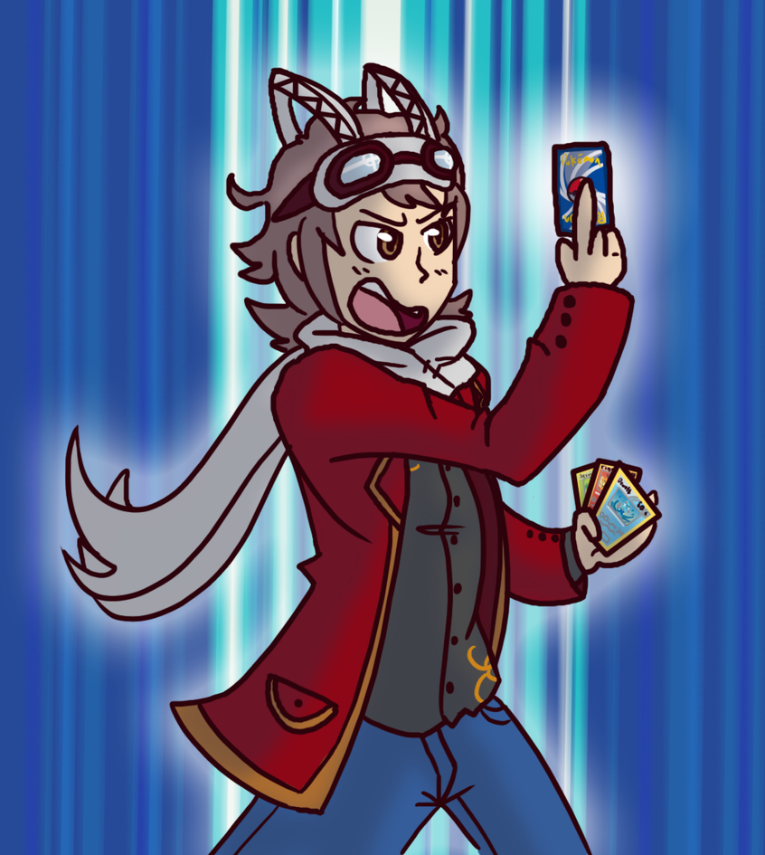 I'm in a card game anime by Kame-Ghost