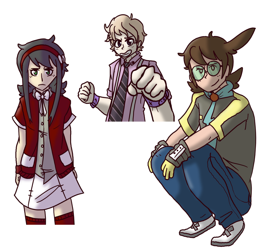 My children by Kame-Ghost