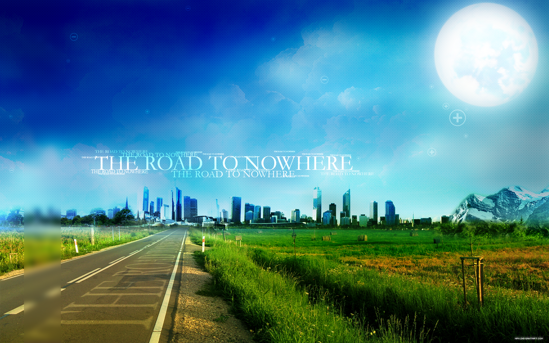 The Road To Nowhere 1920x1200 by mpk2