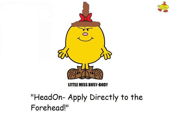 Little Miss Busy Body Moviator By BrainiacAdam