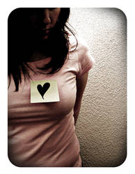 Shape of my heart. by Ellech