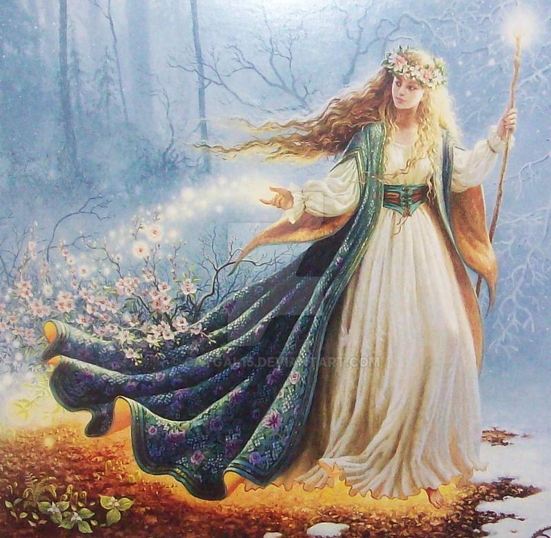 Goddess Of Light by CatGal15