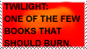 BURN TWILIGHT STAMP by SouthParkSquid